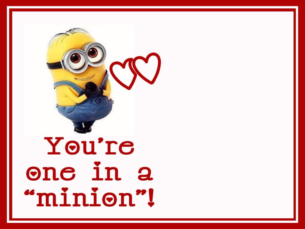 Minion Valentine U201c