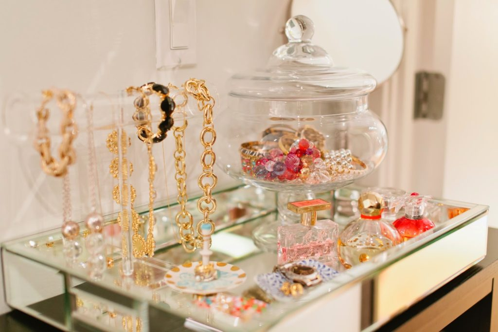Lovely jewelry displays summer adams for Jewelry displays