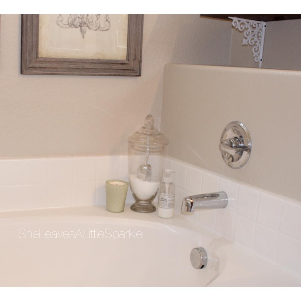 Bathroom Storage Solutions Epsom Salt Apothecary Jar