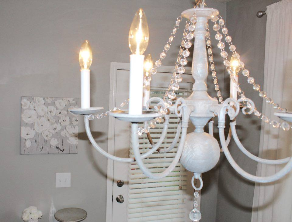 Fabulous chandelier makeover summer adams fabulous chandelier makeover diy chalk paint salt wash vintage chandelier brassy chandelier makeover dear lillie inspired mozeypictures Image collections