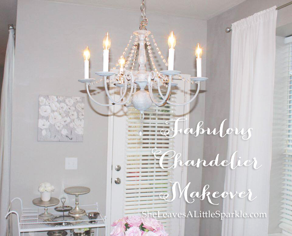 Fabulous Chandelier Makeover Summer Adams – Paint a Chandelier