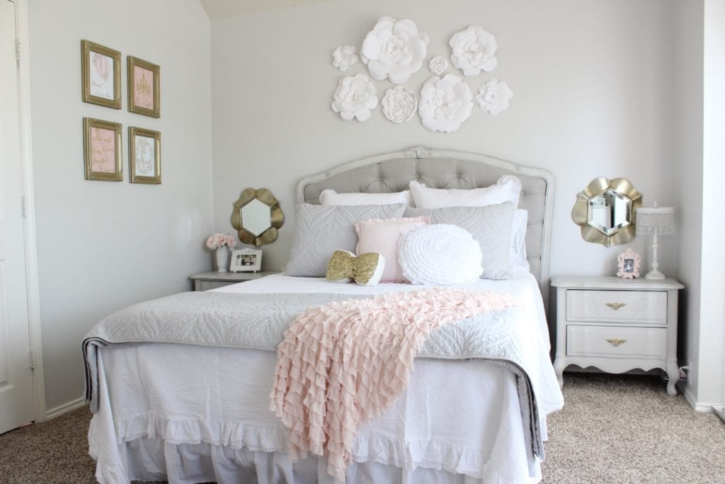 girls tween bedroom makeover