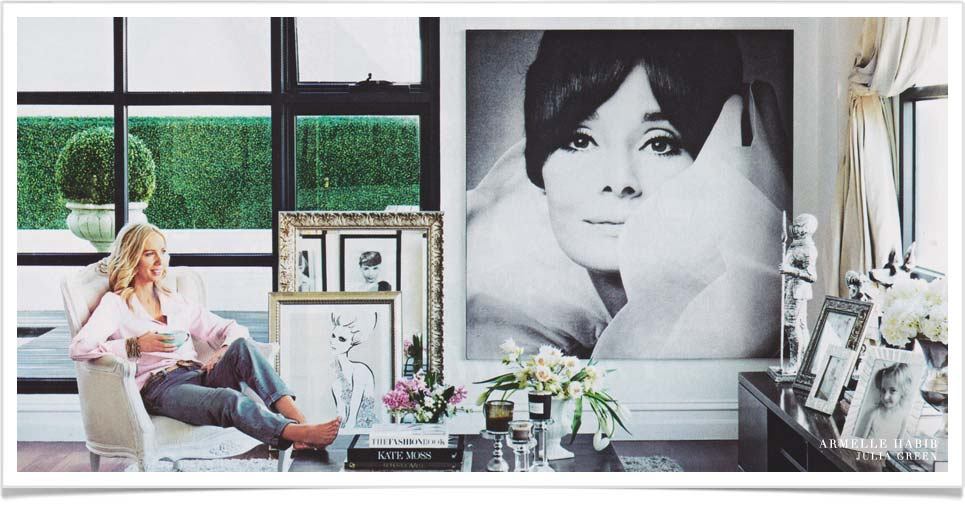 old movies inspiring interior design Megan Hess Home