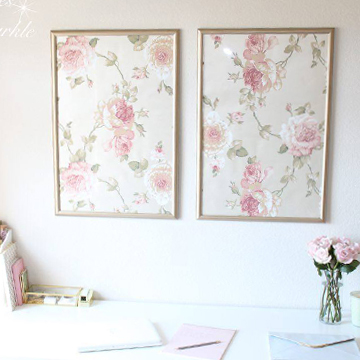 framed wallpaper panels summer adams