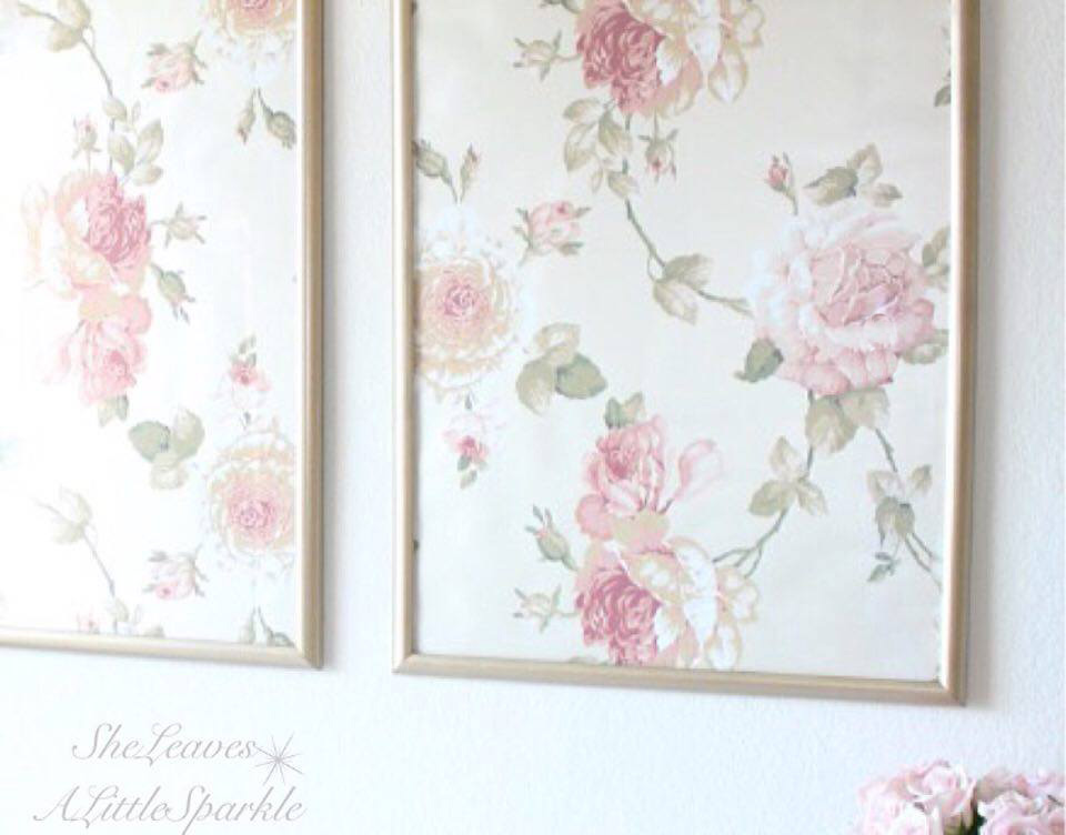 Framed wallpaper panels summer adams for Wall art wallpaper