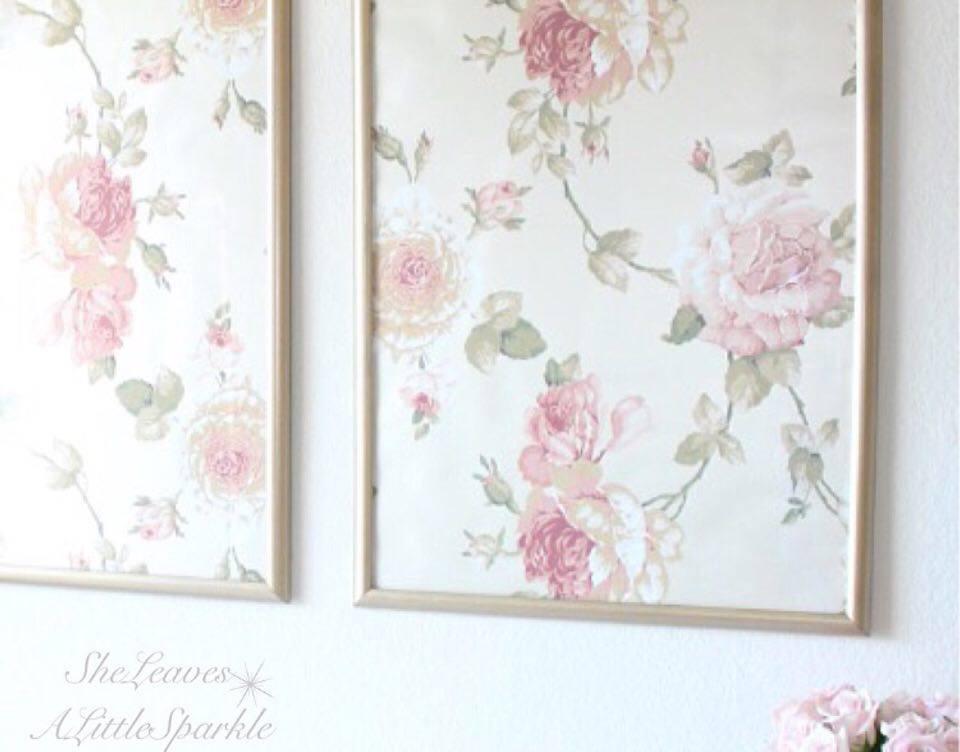 Framed wallpaper panels summer adams for Wall art wallpaper