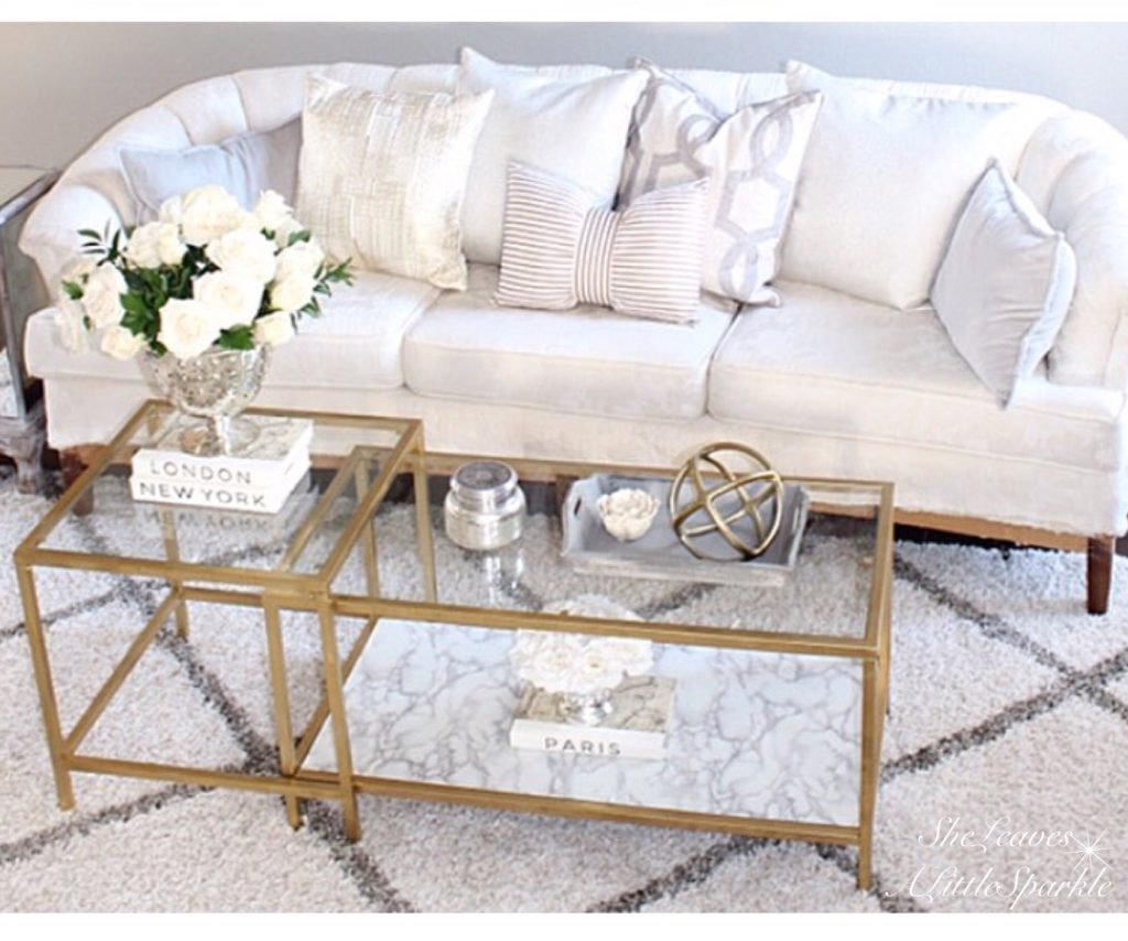 So here is my coffee table easiest thing ever and i love it i did the same to some bookshelves in my office which ill be posting soon