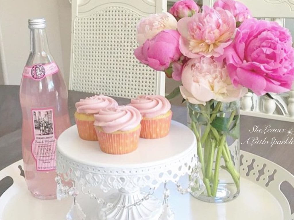 advice for my daughter pink peonies pink cupcakes pink lemonade