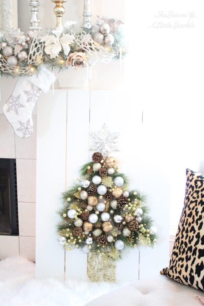 Home Depot DIH Workshop holiday ornament display