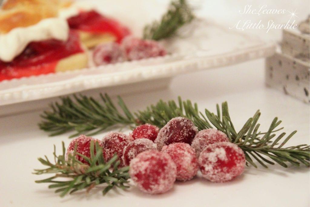 christmas desserts cream puff recipe with cranberry orange sauce vanilla cream
