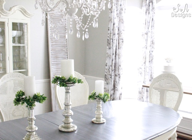 spring home tour with annie selke dining room