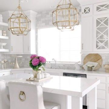 Bright White Home of Jan Scarpino