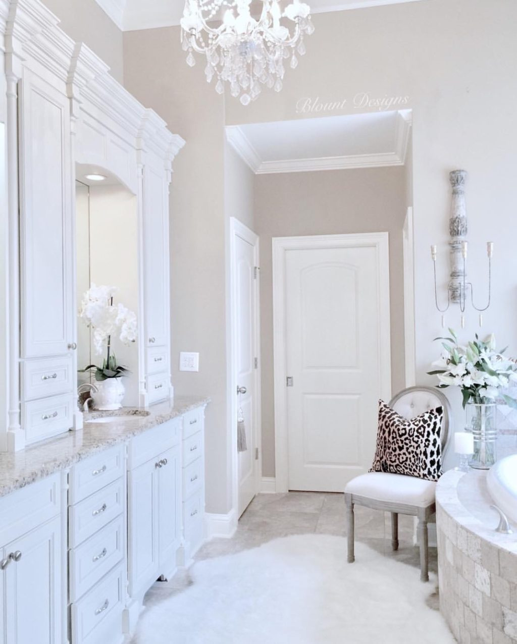 Bright White Home of Deborah Blount
