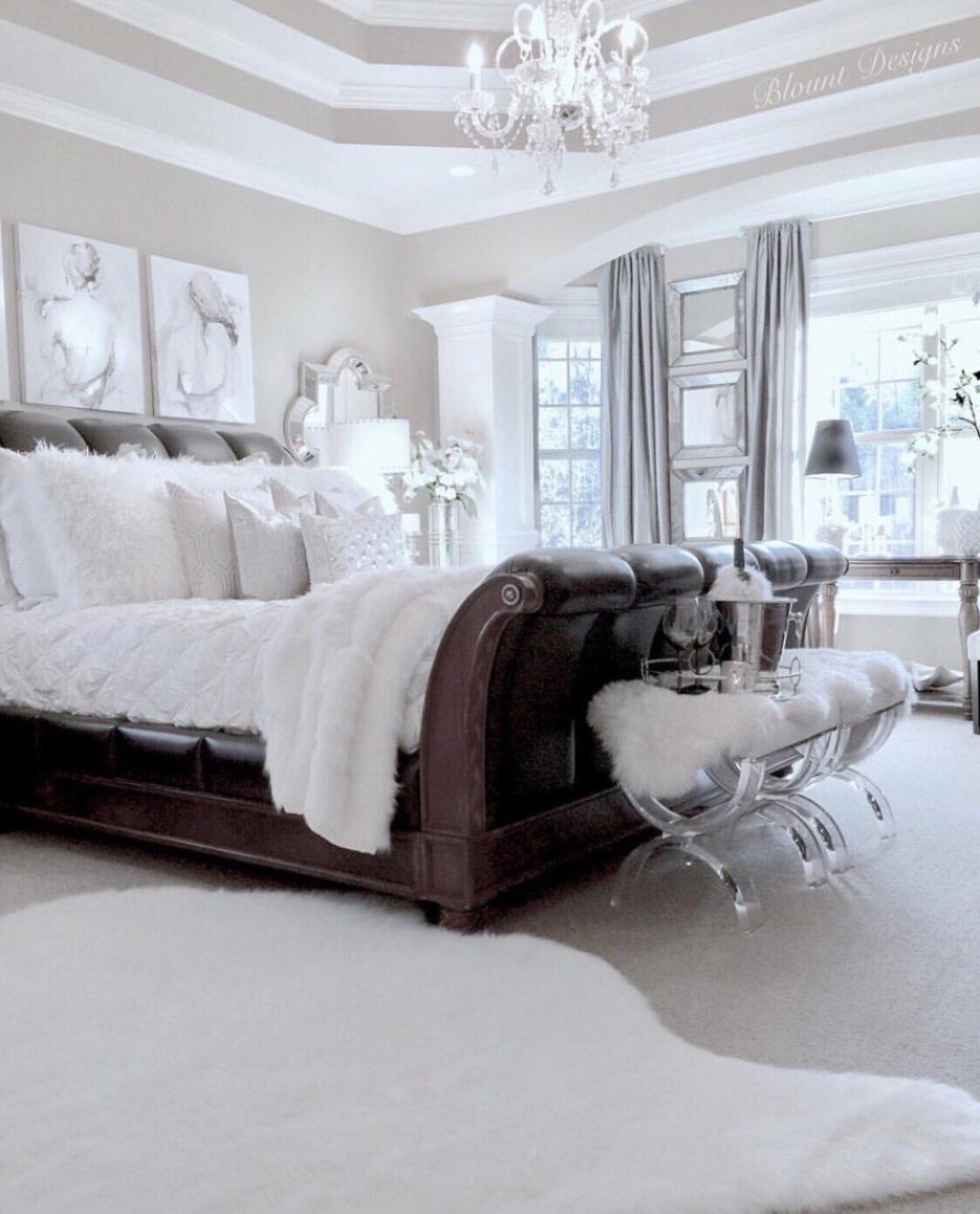 Bright White Home of Deborah Blount bright white home bedroom