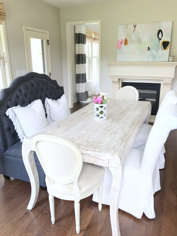 Bright White Home of Megan Manton - Summer Adams