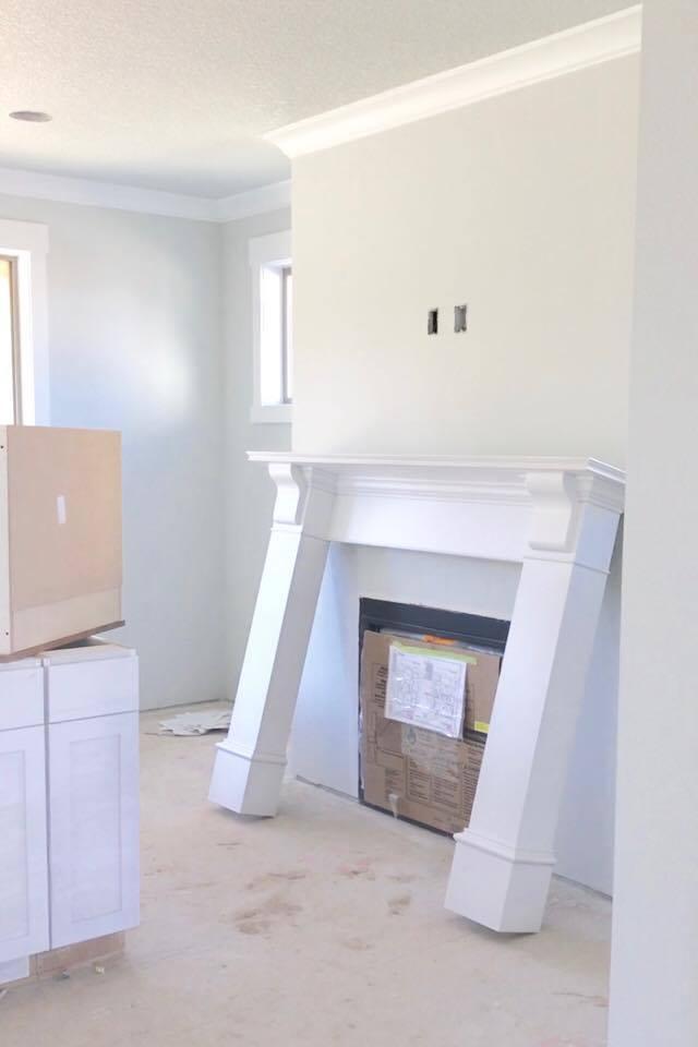 interior white paintThe Perfect Interior Paint Color  A House Sneak Peek  Summer Adams